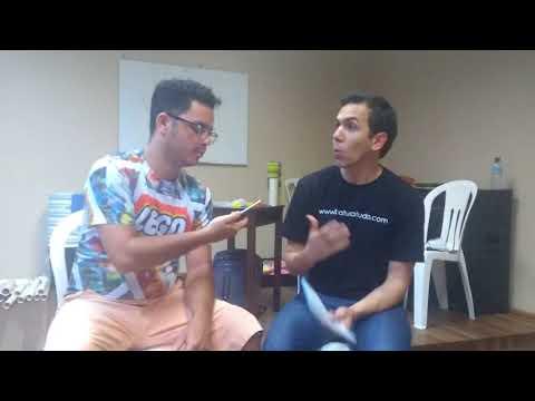 entrevista com marcus vieira em Fortaleza