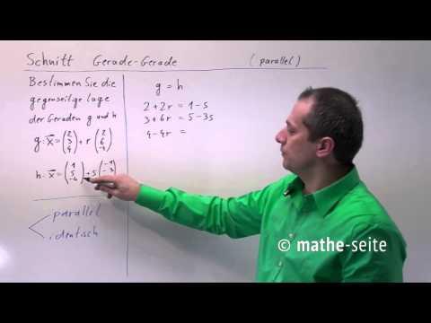 Gleichsetzungsverfahren - zwei Beispiele (Schnittpunkt zweier Geraden) berechnen | Lehrerschmidt from YouTube · Duration:  5 minutes 26 seconds