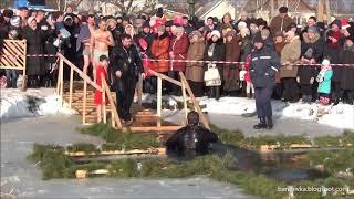 У Баранівці на річці Случ відзначили свято Водохреща