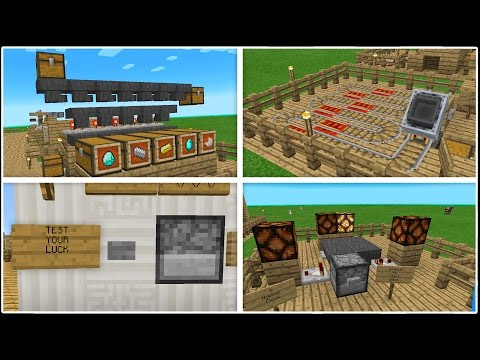 10 Cool Uses for Hoppers in Minecraft Pocket Edition