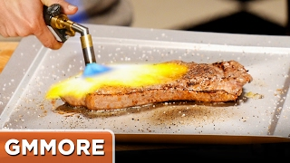 Cooking a Steak w/ a Blowtorch
