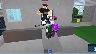 PLAYING ROBLOX PRISON LIFE (ESCAPING AND GETTING BACK IN WITHOUT KEYCARD!!)