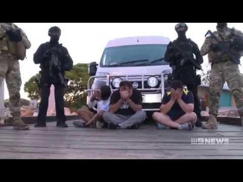 Record Drug Haul   9 News Perth