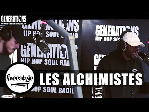Youtube: Les Alchimistes – Live«SCT» (Live des studios de Generations)