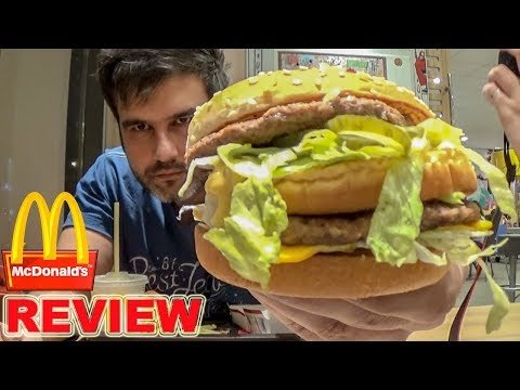 Δοκιμάζοντας Το Big Mac Από Τα McDonald's (Bic Mac VS Double Chicken)
