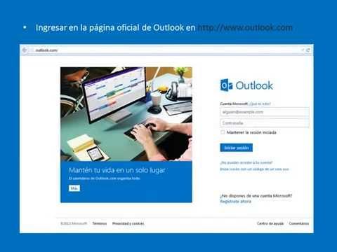 Iniciar Sesión Outlook
