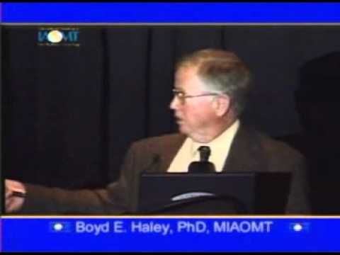 Pt. 2 Boyd Haley, PhD discusses vaccine and oral toxicity and systemic diseases IAOMT 2007 Tucson