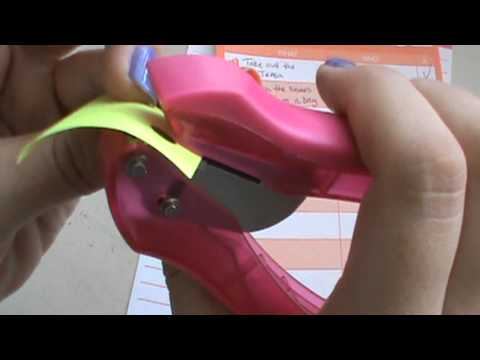 Quick Review on the Office Depot Paper Pro single hole punch
