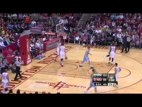 Denver Nuggets vs Houston Rockets | April 6, 2014 | NBA 2013-14 Season