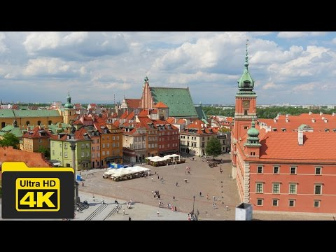 4K POLAND, WARSAW TRAVEL GUIDE VIDEO, Best Places To Go, Top Attractions, Best Things To Do