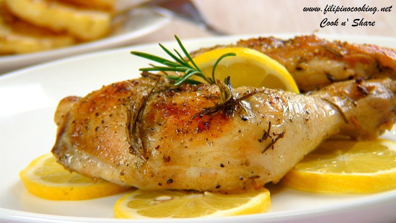 Lemon Chicken - YouTube
