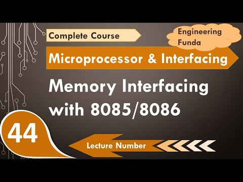 Memory Interfacing with 8085/8086 (Address and Data De-multiplexing, Generation of Control Signal)