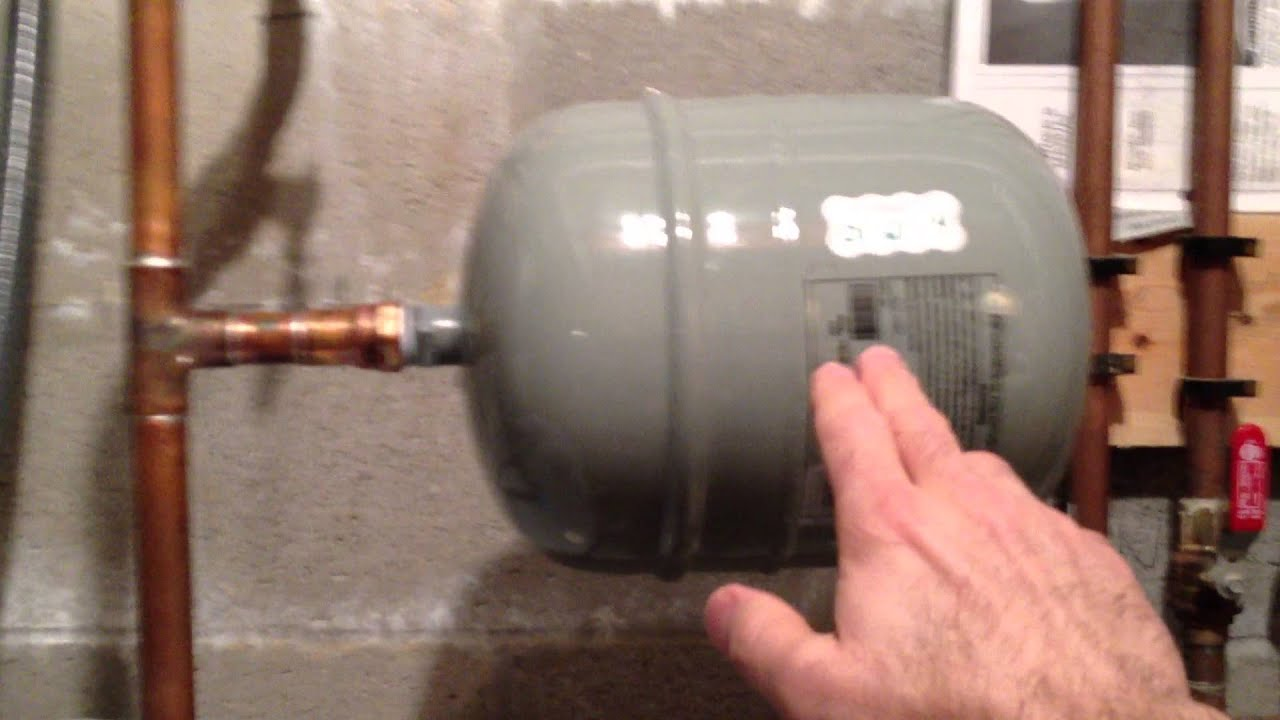 Protect Your Water Heater with a Thermal Expansion Tank - YouTube