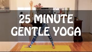 Video 25 Minute Gentle Yoga download MP3, 3GP, MP4, WEBM, AVI, FLV Maret 2018