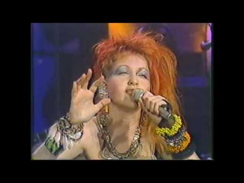 Cyndi Lauper Time After Time The Tonight Show  March 1st, 1984