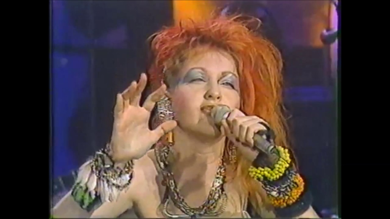 """Cyndi Lauper """"Time After Time"""" The Tonight Show - March 1st, 1984"""