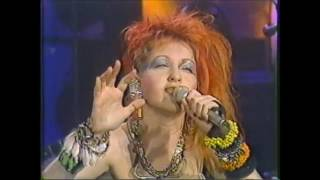"Cyndi Lauper ""Time After Time"" The Tonight Show - March 1st,..."