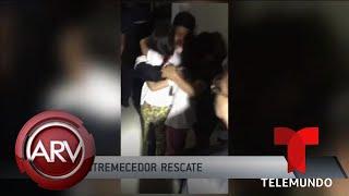 Rescatan a una madre con sus hijas secuestradas en su propia casa | Al Rojo Vivo | Telemundo