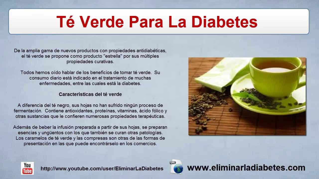 Te Verde Para La Diabetes | Remedios Naturales - YouTube