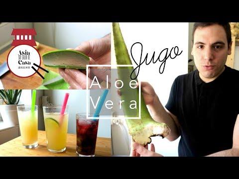 Bebidas Con Aloe Vera Y Sus Beneficios Para La Salud / Aloe Vera Juice And Benefits For Health
