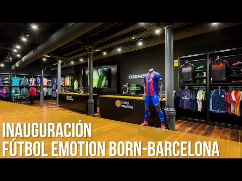 Inauguración Fútbol Emotion Born-Barcelona / La tienda de fútbol más grande de Europa