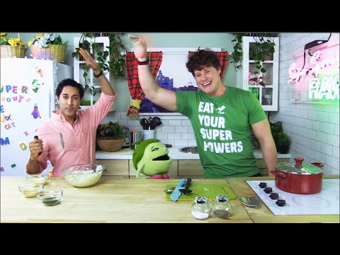 Episode 1 Maulik Pancholy & Suzy Sweet Pea: Cauliflower Mash Up