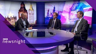 No-deal Brexit could 'break up current party system' – BBC Newsnight - BBC Newsnight