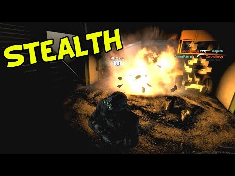 Spies. in the dark. - Spies VS Mercs (Splinter Cell Blacklist Multiplayer)