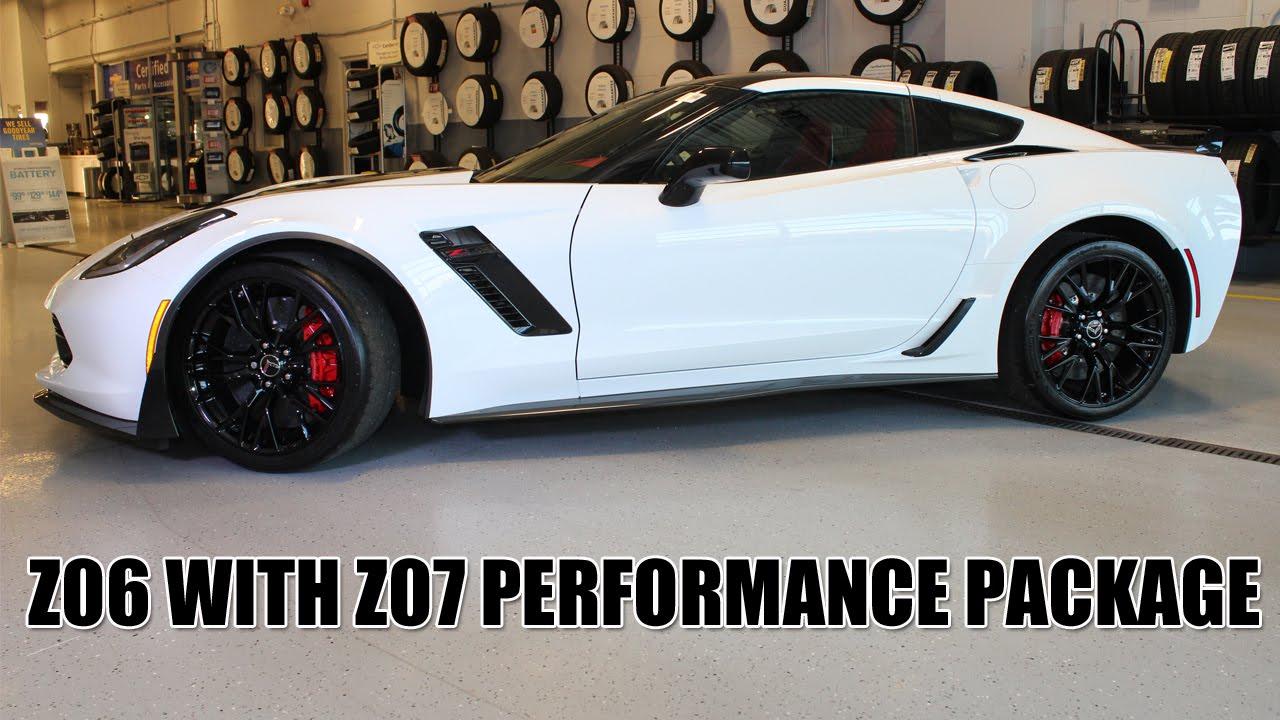2017 Corvette Z06 W Z07 Performance Package For Stasek Chevrolet Wheeling Il You