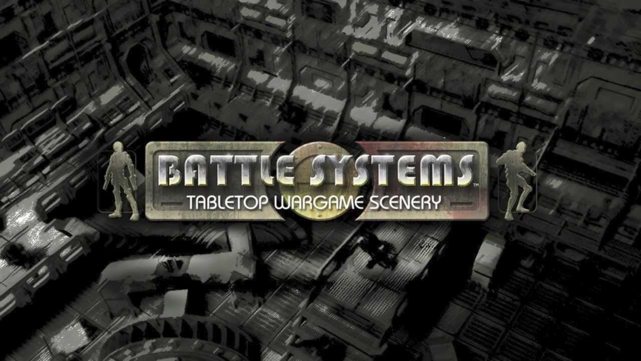 Battle Systems Sci-fi Modular Terrain