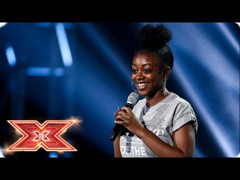 Rai-Elle Williams goes big on Bridge Over Troubled Water | Six Chair Challenge | The X Factor 2017