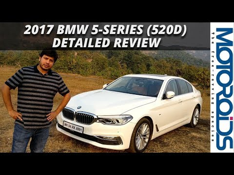New 2017 Bmw 5 Series 520d Detailed India Review