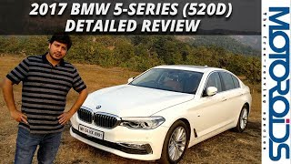 New 2017 BMW 5-Series (520d) Detailed India Review