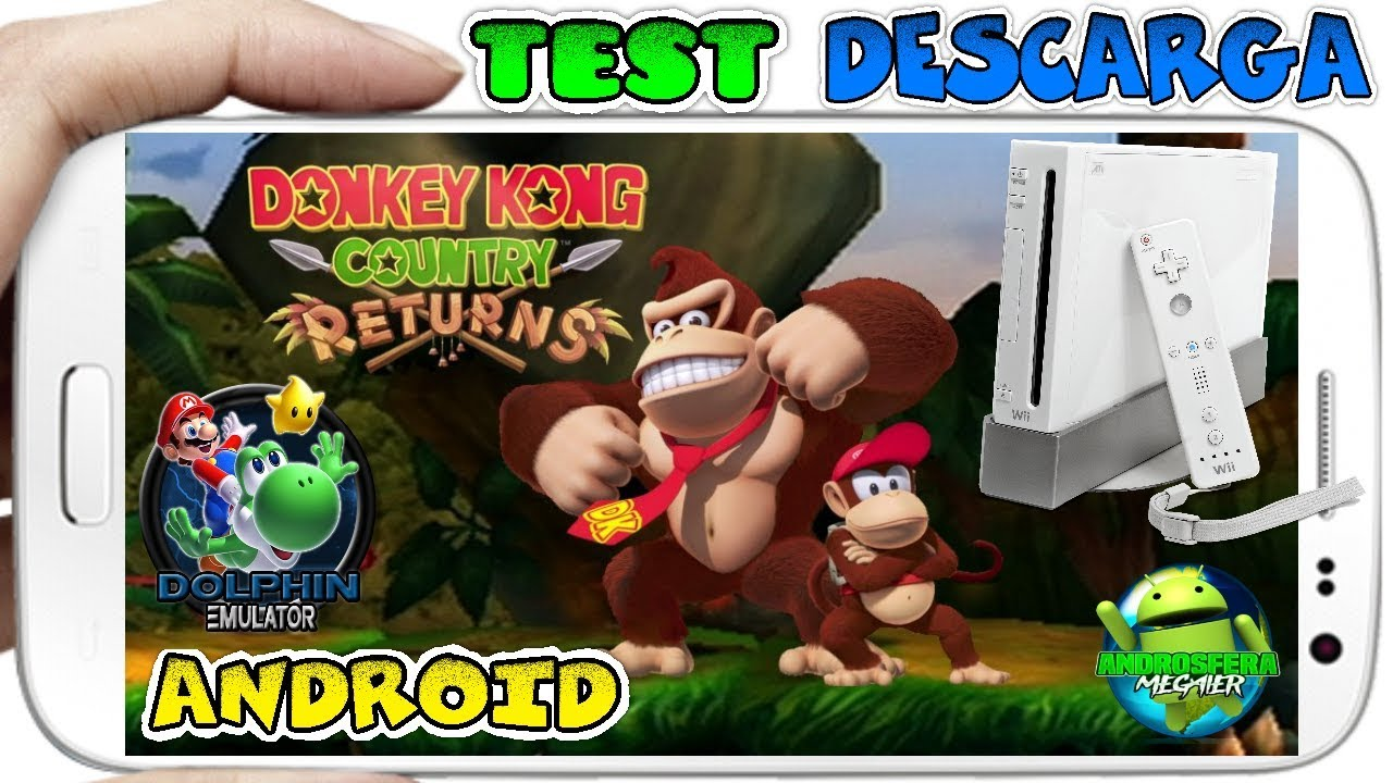 donkey kong country returns iso dolphin