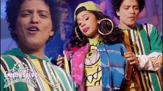 Bruno Mars and Cardi B's