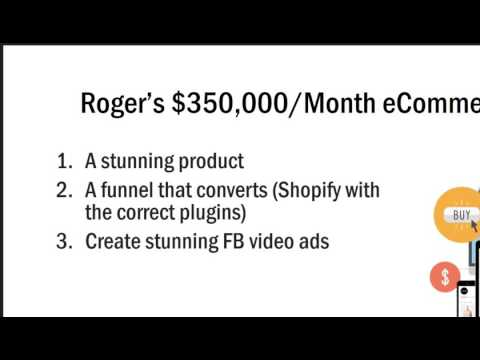 Ecommerce - earn 6 figures with Barry and Roger