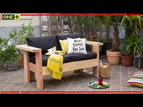 fabriquer un salon de jardin en bois tutoriel bricolage youtube. Black Bedroom Furniture Sets. Home Design Ideas