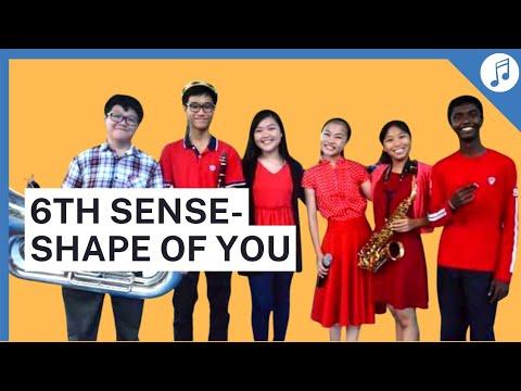 6th Sense - SHAPE OF YOU Band Cover