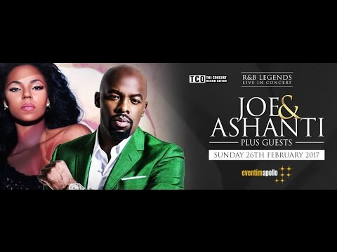 Joe and Ashanti at Eventim Apollo, London, United Kingdom feb 26 2017 [full concert]