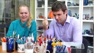 видео ручки под логотип