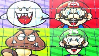 Super Mario Party - Minigames - Boo vs Mario vs Luigi vs Goomba