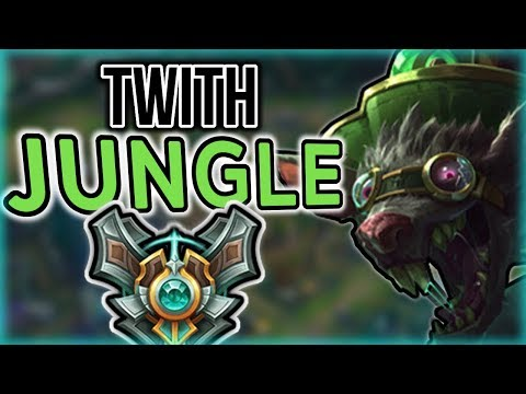 How TO Twitch Jungle - Jungle Twitch Commentary Guide - League of Legends