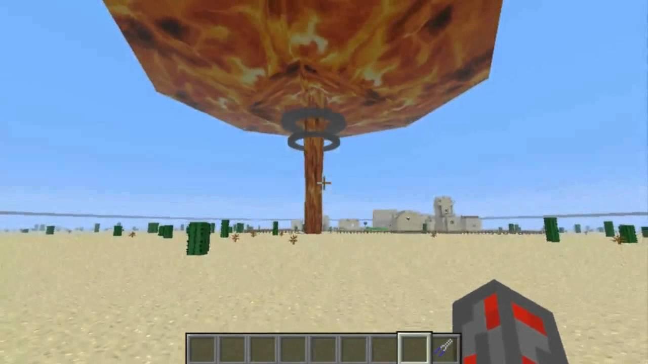 как взорвать ядерную бомбу в майнкрафт #7