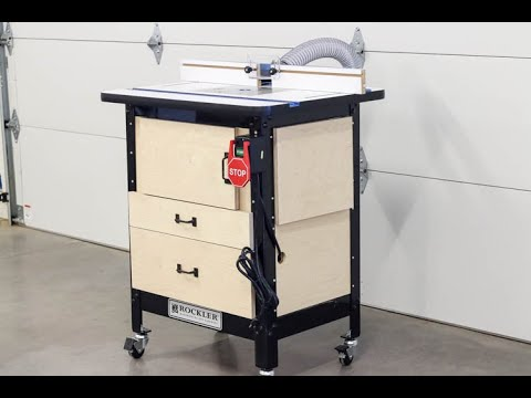 ULTIMATE Router Table Build - Workshop Organization