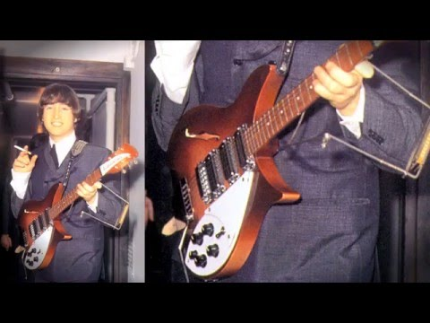 Julien's Auctions: Property From The Career of Ringo Starr: Lennon Guitar Auction