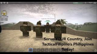 ROBLOX Armed Forces of the Philippines 2016