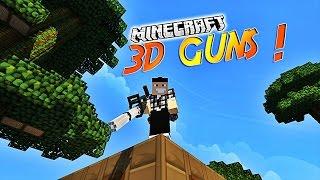 "Présentation du mod ""3D GUNS""! - Du Call Of Duty dans Minecraft ! [1.7.10] [1.7.2]"