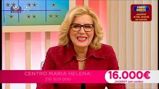 Maria Helena no 'Queridas Manhãs' dia 13 de Novembro
