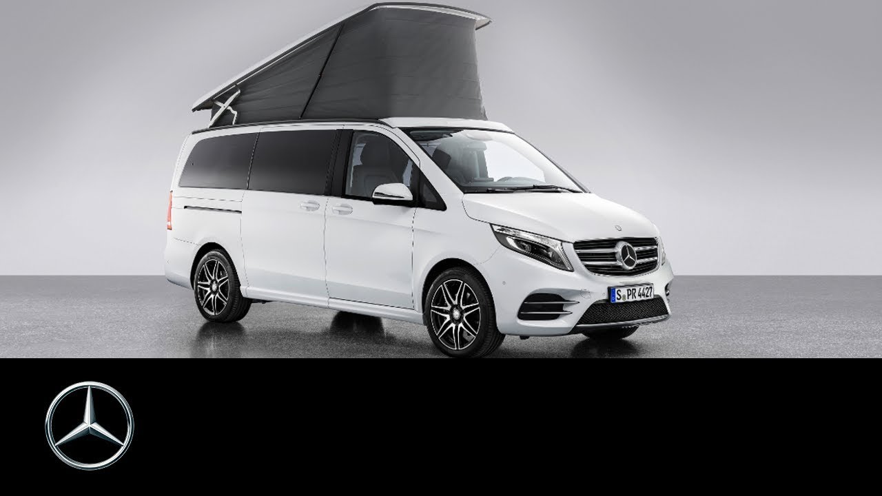 mercedes benz marco polo a new star in camper van heaven youtube. Black Bedroom Furniture Sets. Home Design Ideas