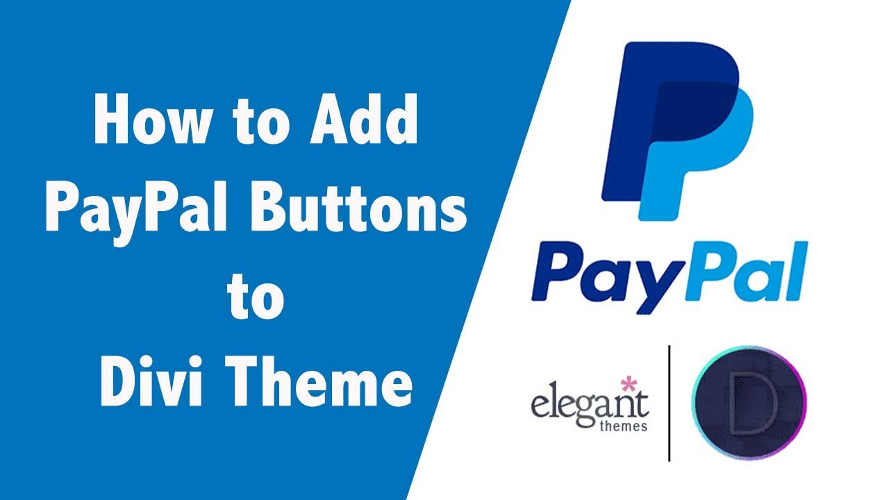 Divi PayPal Plugin - PayPal for Divi - AngellEYE